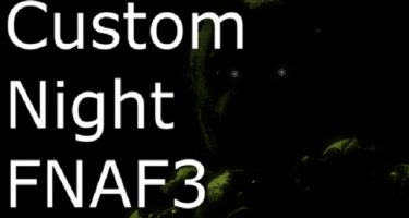FNAF 3: Custom Night