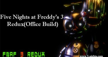 Fnaf 3 Redux Office Build
